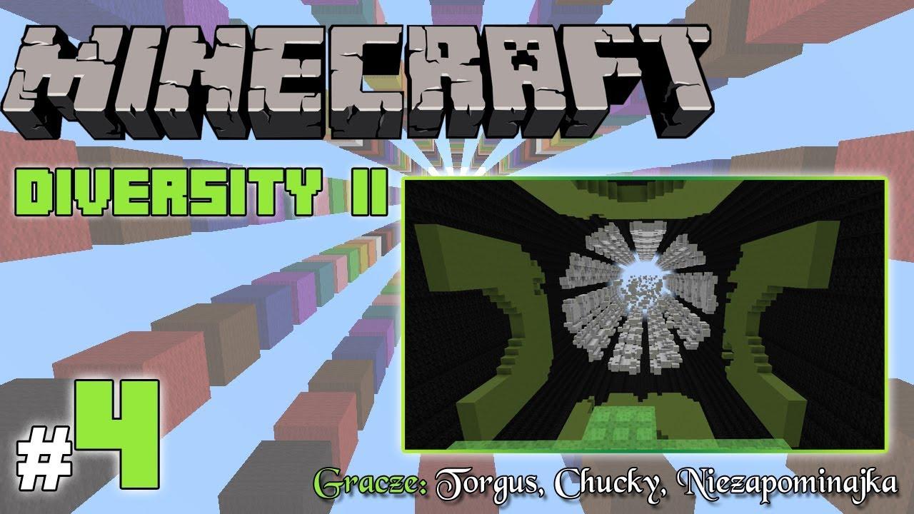 """Minecraft Escape: Diversity II z Torgus/Chucky! [4/x] – """"Gofry, grzybki i lodowiec"""""""