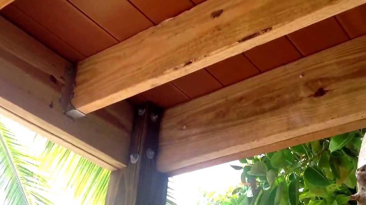 Braces Under Deck Youtube
