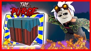 THE PURGE: NEW AIRDROPS UPDATE - ROBLOX