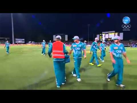 Hobart Hurricanes vs Brisbane Heat Highlights 23 January 2014 | LIve Cricket