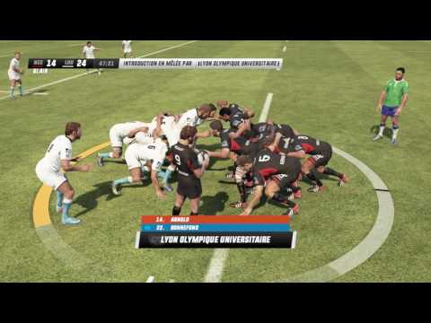 NEWCASTLE FALCONS - LYON LOU : Rugby Challenge 3 [PC][FR]