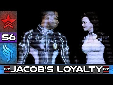 Mass Effect 2: Jacob's Father - Loyalty Mission - Paragon Story Walkthrough #56