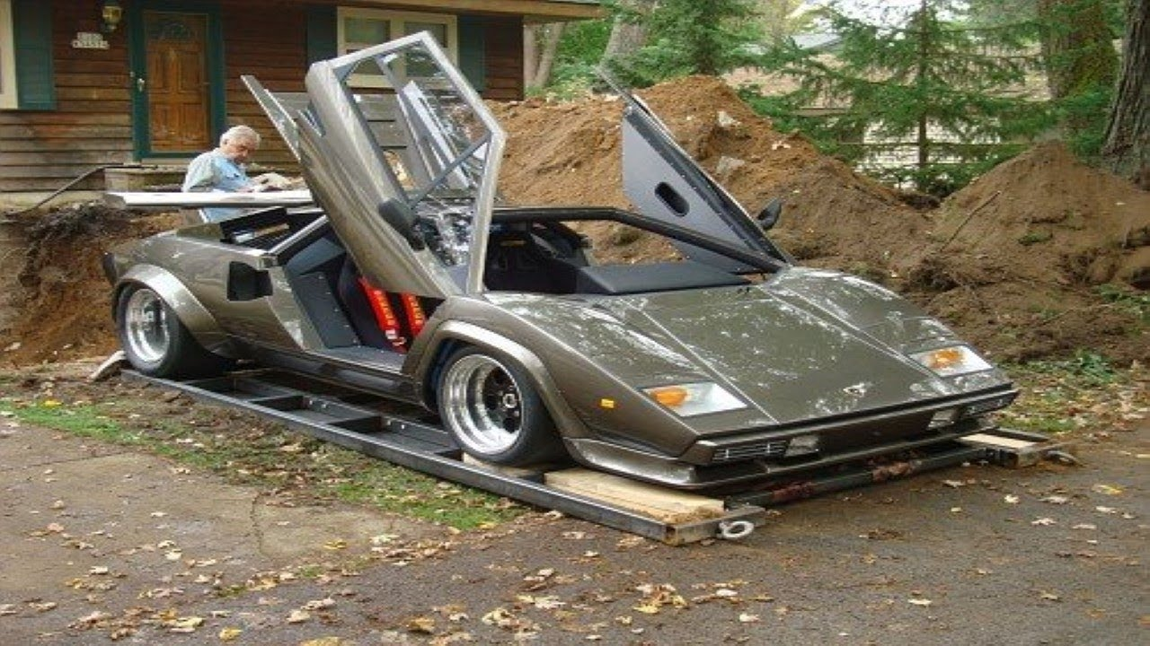 Perfect IT TOOK HIM 17 YEARS TO BUILD A LAMBORGHINI FROM SCRATCH