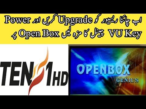 All China Receiver's 1506 G To Open Box Genus Power VU Key Ok