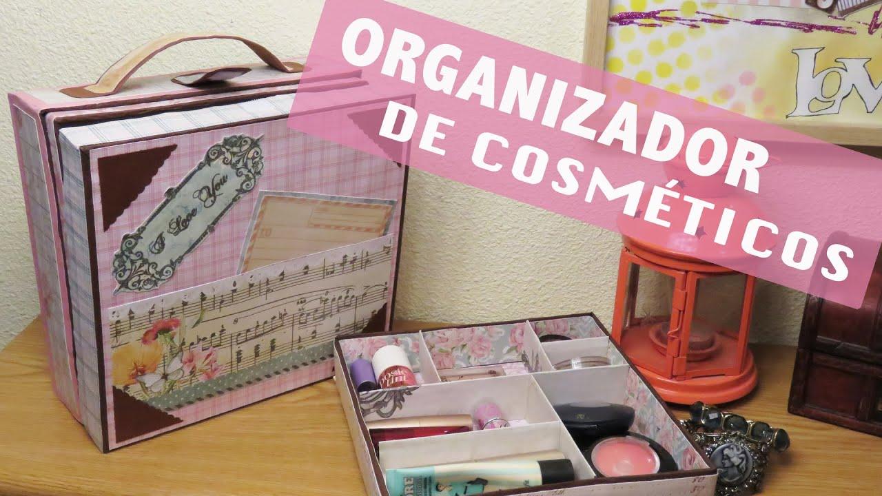 Organizador de maquillaje en forma de maleta youtube - Como hacer un organizador de zapatos casero ...