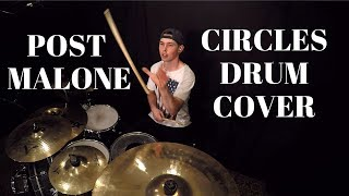 Post Malone - Circles Drum Cover by Andy Paul
