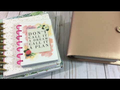 Why I went from the Happy Planner to an A5, and flip through!