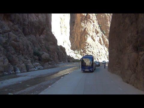 Bo beau paysage nature maroc les gorges toudra    جمال الطبيعة بالمغرب مضايق تودغة