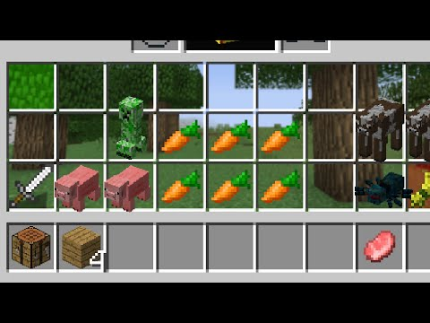 Playing Minecraft In Your Inventory