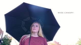 Auto Open Close Inversion Umbrella