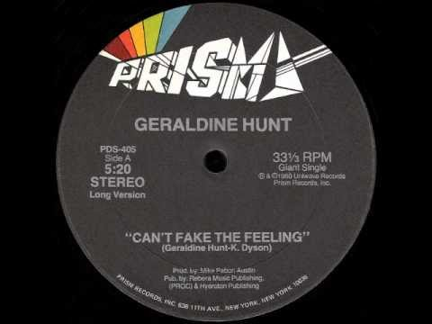 Geraldine Hunt - Can't Fake The Feeling (12
