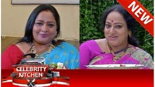 Celebrity Kitchen with Actress Sulakshana & Actress Nalini (29/08/2014) - Part 1