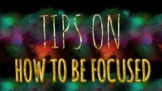 The smallest video😂😂TIPS ON HOW TO BE FOCUSED