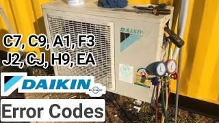 Dc inverter ac error problem solve, E1,E5,F3,F7,F8