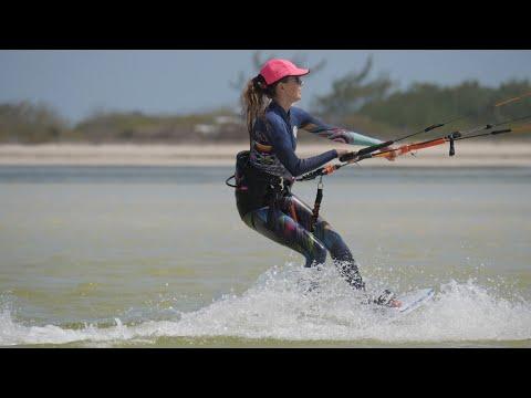 Kiteboarding in Isla Blanca, Mexico 2017