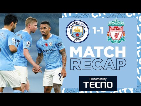 PREMIER LEAGUE CHAMPIONS HELD | CITY 1-1 LFC | THE MATCH RECAP