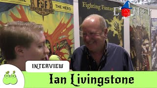 Fighting Fantasy Interview with Ian Livingstone
