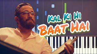 Kal Ki Hi Baat Hai Piano Tutorial   CHHICHHORE   Sushant, Shraddha   KK, Download Free Midi (Piano)