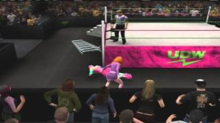 Daphne Blake vs. Nicki Minaj, Extreme Rules