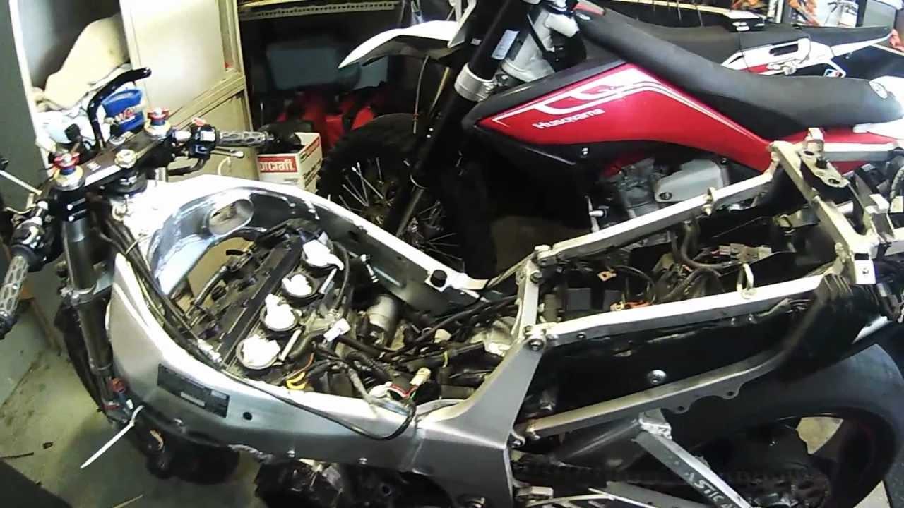 Tired top end  2000 Suzuki Gsxr 750 Motor swap  PART 1