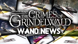 New Fantastic Beast 2 Wands , News From Noble Collection