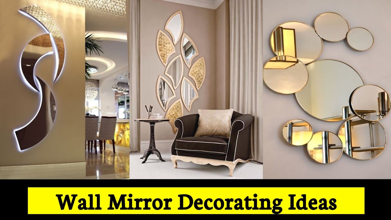Wall Mirror Decorating Ideas 2021 Entryway Wall Decor Ideas Wall Mirror Design For Living Room Youtube