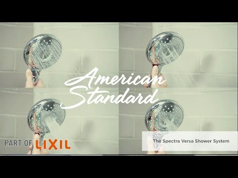 Introducing Spectra Versa Shower Faucets And Kits By American Standard