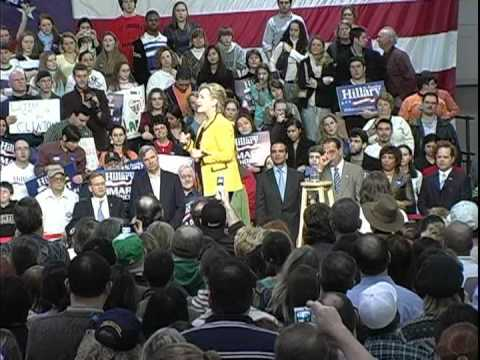 Hillary Clinton at Rhode Island College