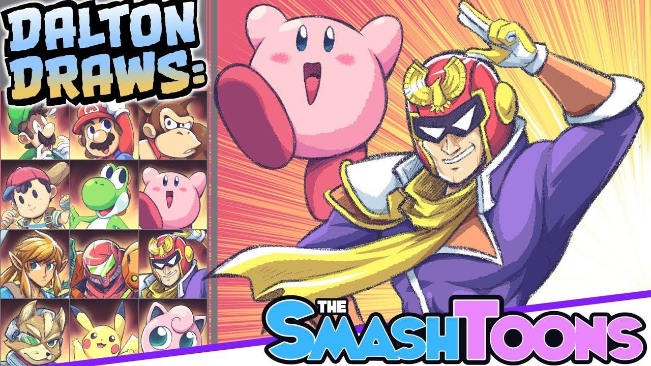 Super Smash Bros Ultimate PART 1 Dalton Draws