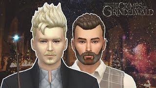 Создаю персонажей Фантастических тварей 2 | Sims 4