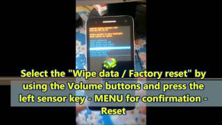 How make Hard Reset on phone Micromax A120 (Как сделать Хард Ресет на телефоне Micromax А120)