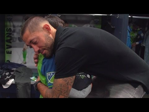 Clint Dempsey grants Nathan's wish with surprise visit