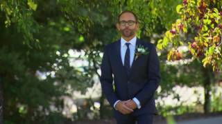 Andy and Craig begin their ceremony: Married at First Sight Australia