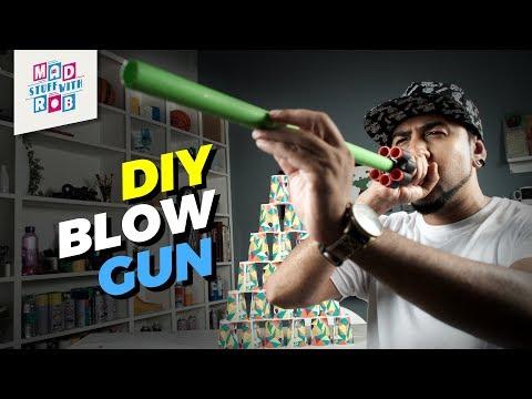 How to make a Blow Gun at Home
