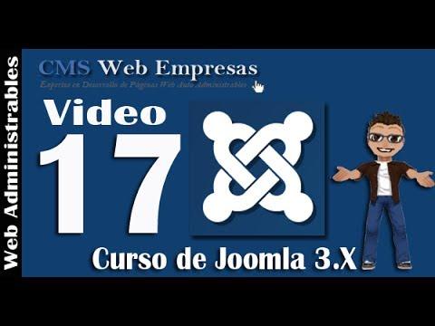 17. Editores De Texto En Joomla 3.X - Potenciar El Editor TinyMCE