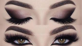 ⭐ Cat Smokey Eyes & Batom Vinho! Paleta Gwen Stefani Lip Liner Huda Beauty | Melissa Samways BR ⭐