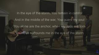 "CCBC Worship Team performs ""Eye of the Storm"""