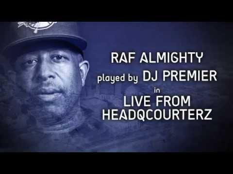 """DJ PREMIER plays RAF ALMIGHTY feat KIMBA """"A STATEMENT"""" (UNION BLAK REMIX) on HEADQCOURTERZ"""