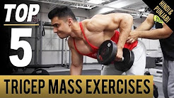 Regular Exercise- TOP BIG TRICEP MASS EXERCISES
