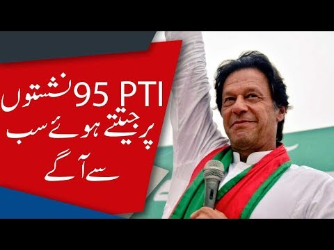 Election 2018 unofficial results: PTI leading with 95 NA seats