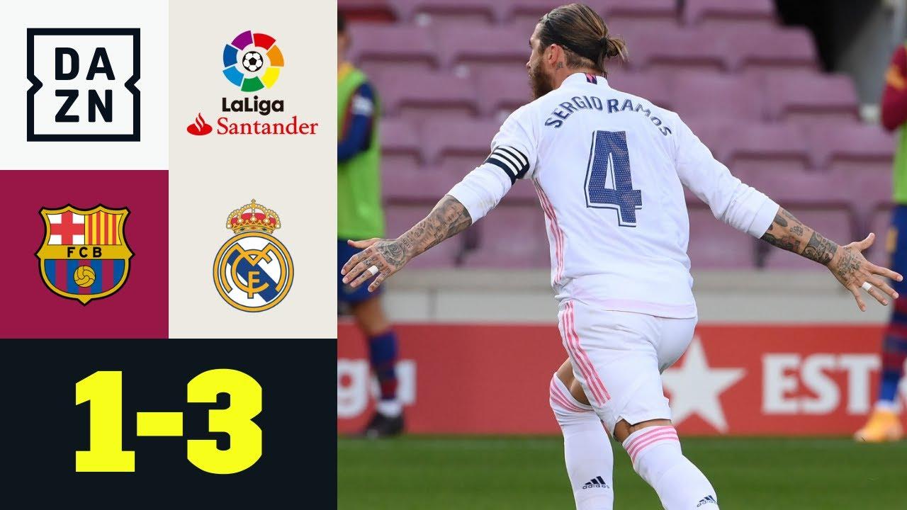 Download Il Clásico è dei Blancos: Barcellona - Real Madrid 1-3 | LaLiga | DAZN Highlights