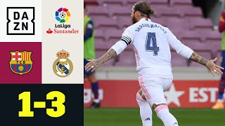 Il Clásico è dei Blancos: Barcellona - Real Madrid 1-3 | LaLiga | DAZN Highlights