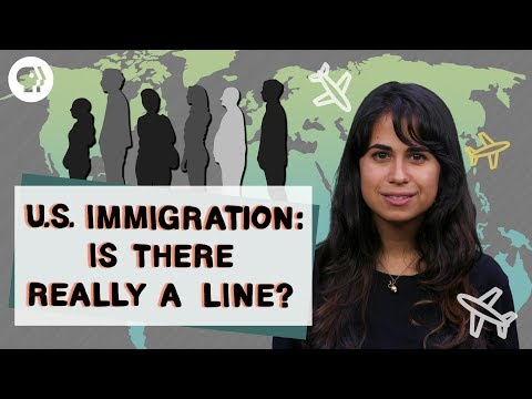 "Is There Really an Immigration ""Line"" to Wait In?"