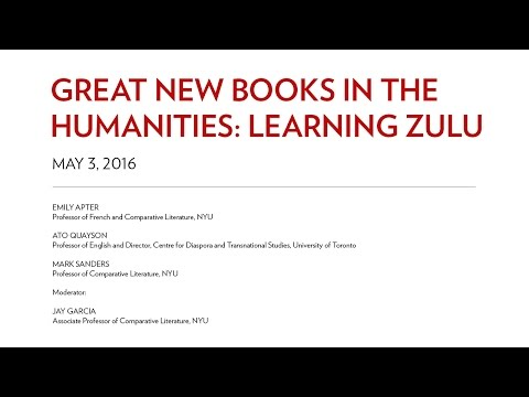 Great New Books in the Humanities Learning Zulu