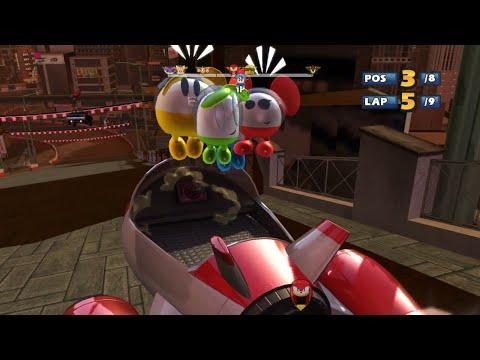 CHUCHUS Rokkaku Hill 9 Laps Expert (Request) Sonic & SEGA All Stars Racing. PC 2021!  