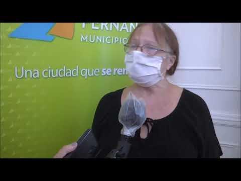 Andreotti otorgó subsidios a entidades sociales y culturales