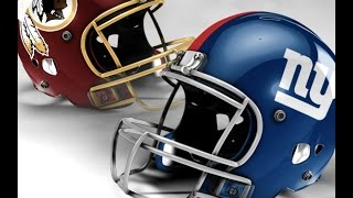 NY Giants vs. Redskins (Week 17) Prediction!