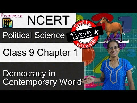 NCERT Class 9 Political Science / Polity / Civics Chapter 1: Democracy in Contemporary World