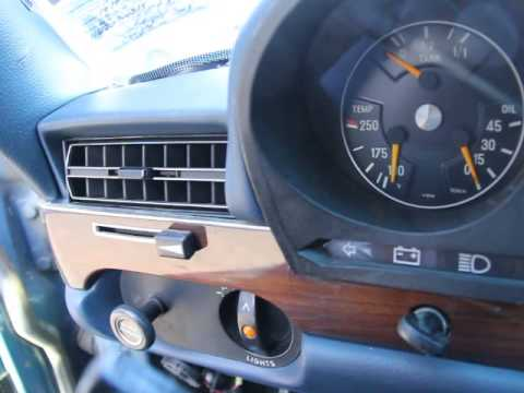 1979 Mercedes 300SD W116 Interior Stock1055C  YouTube