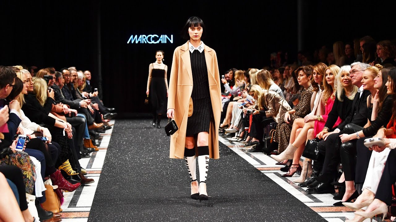 Berlin Fashion Week 2017 Marc Cains Neue Kollektion Youtube